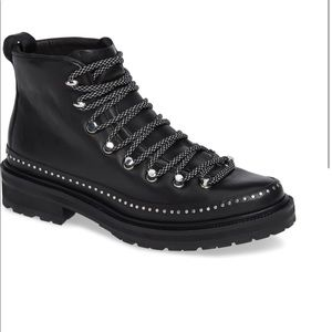 Rag & bone compass combat boot black 36/6